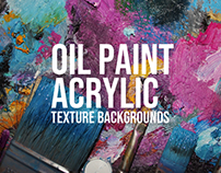 20+ Oil Painting & Acrylic Texture Backgrounds for Desi
