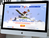 TURKISH AIRLINES - Wingoflies Microsite Web Design