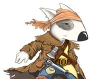 Cão Armado - Character design
