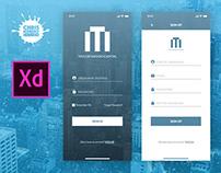 Taylor Mason Capital Mobile App UI Design