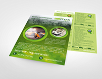 Eco clean company leaflet