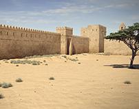 Al Muwaiji Fort - CGI