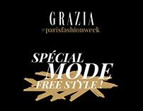 Grazia - Contenu Instagram Fashion Week