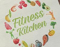 Логотип для службы доставки здорового питания