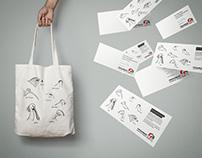 Tote Bag and Greeting-Card