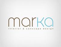MarKa Interior & Landscape Design Office Logo