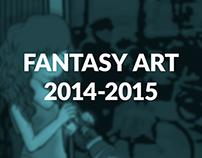 Fantasy Art 2014-2015