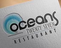 OCEANS 27 LOGO DESIGN