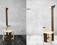 Yin Yang High-Back Chair