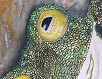 Yellow Eyes by Melissa J Aguiar
