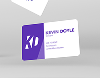 KevDoy Business Card