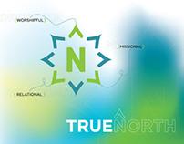 "North Church - ""True North"" Series Graphics"