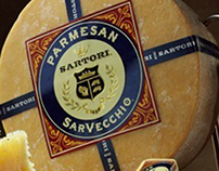 SARTORI CHEESE: Branding + Packaging