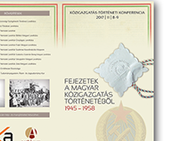Conference - History (National Archives of Hungary)