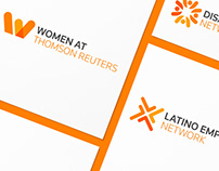 Internal Brand Identity for Thomson Reuters