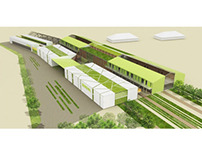 """Multifunctional Youth Centre """"EcoBase"""""""