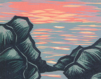 Into The Woods: A Printmaker's Apprenticeship in Maine