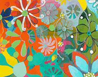Clusters (2 paintings)