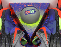 Nike Zoom Kevin Durant IV - Nerf Collaboration