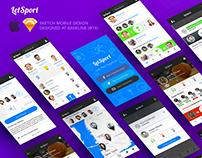 LetSport iOS App Concept