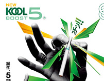 Kool Boost 5mg - New Product Innovation
