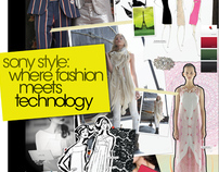 Fashion Meets Technology Poster