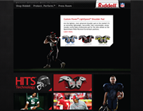 Riddell site redesign exercise