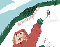 Bukovel snowboarding