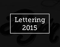 Lettering & handlettering 2015