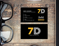 Diseño de Logotipo - 7D Grupo Integral