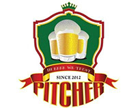 Pitcher Beer Bar Identity