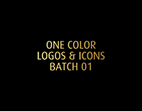 ONE COLOR LOGOS & ICONS