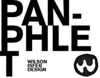 WILSON ISFER PANPHLET DESIGN