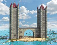 Fantasy Bridge Towers