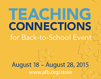 Teaching Connections Event Web ads