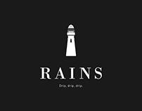 Rains Clothing Website Concept