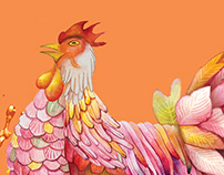 F&N Chinese New Year Rooster 2016 金鸡报喜