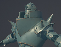 Alphonse Elric Full Metal Alchemist WIP