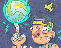 Volley King / Drawlympics