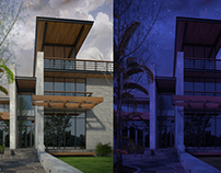 Modern Villa | Day & Night | Shots