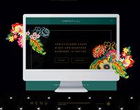 Ambrose & Eve Restaurant Website Design