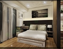 Design for a Studio Unit at The Grove by Rockwell