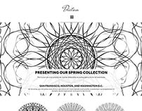 Dictum Modern Artists Website Concept
