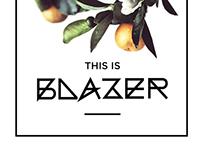 Blazer | Font