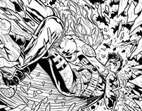 Inks for Teen Titans