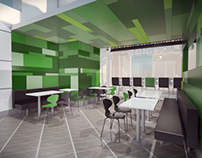 Concept for New Restaurant Interior