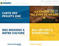 Masen Site web Refonte