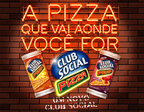 Club Social Pizza - Lançamento de Produto
