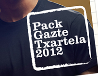 Pack GazteTxartela 2012