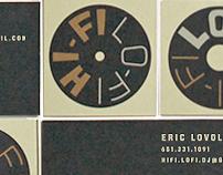 Hi-Fi/Lo-Fi Disc Jockey Service Branding